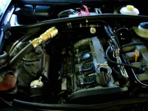 How To Boost Leak Test On An Audi A4 1 8t