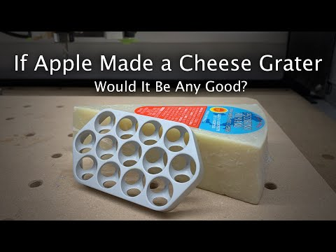 YouTuber recreated Apple's Mac Pro case to see if it could grate cheese