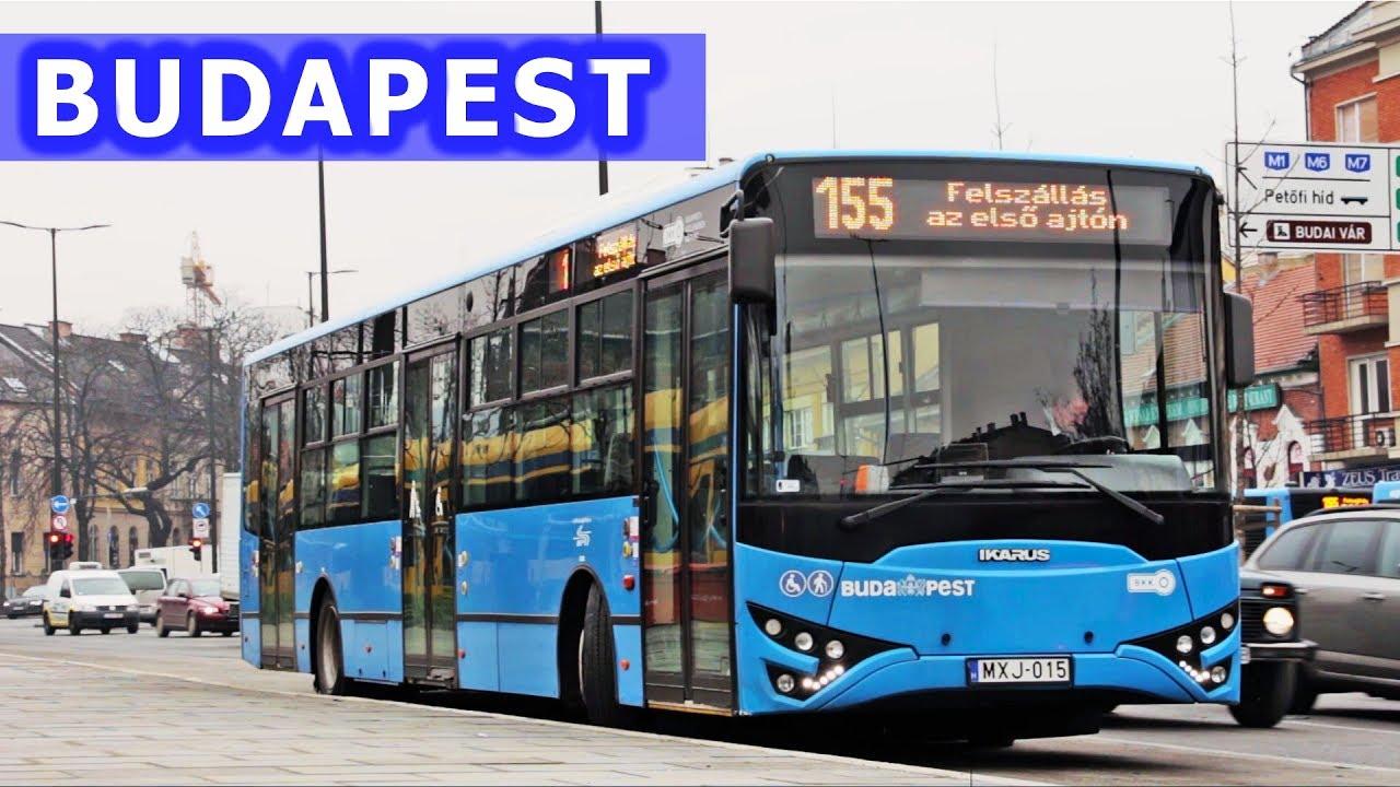 Autobusy w Budapeszcie / Budapest Buses