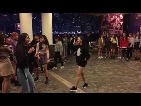 Public Random Dance Challenge in TST (HK) K-POP Party Night 2017/12/30-31