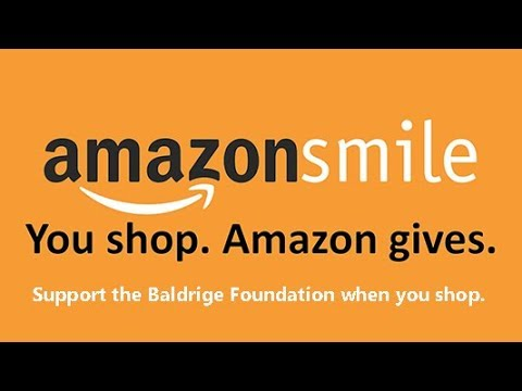 Donate to Baldrige by Shopping with Amazon Smile