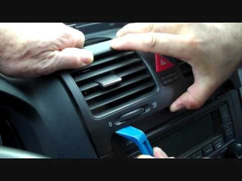 How To Volkswagen Jetta Car Stereo Removal 2006 2010 Replace Repair