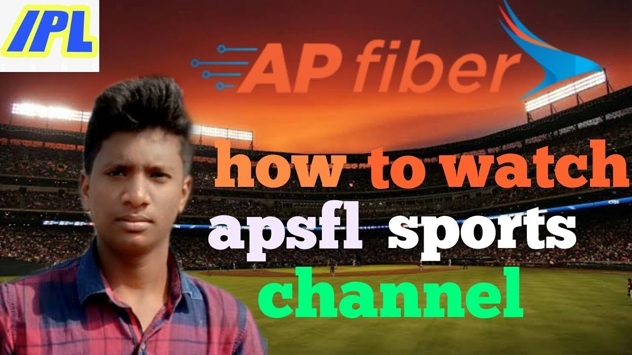 How to watch ap fiber sports channel in Telugu