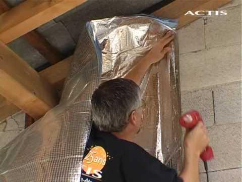 ACTIS - Posa termoriflettenti su un muro