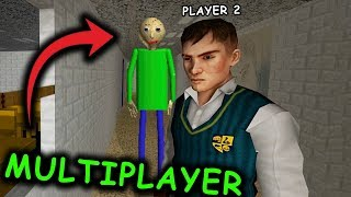 Baldi's Basics MULTIPLAYER... (Online Baldi's Basics in Education and Learning Co-op Roleplay)