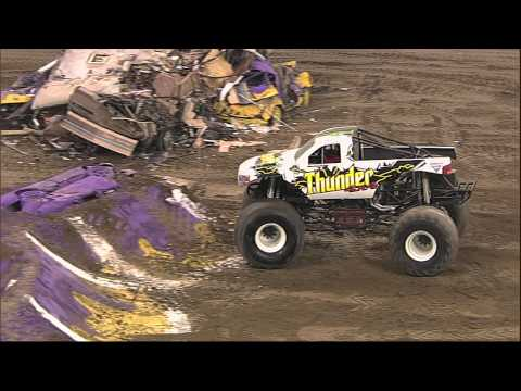 Monster Jam - Thunder 4x4 Freestyle in Indianapolis, IN - January 25, 2014