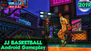 JJ Basketball (JJ篮球) Android Gameplay || Basketball Android Game