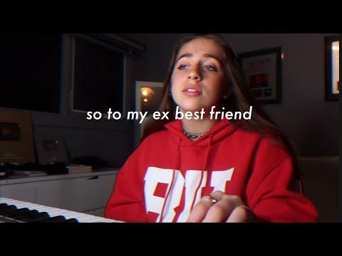 dear ex best friend - original song by tate mcrae