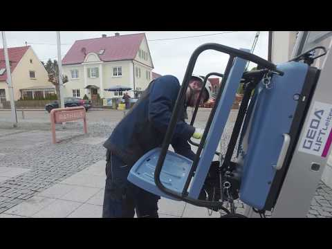GEDA AkkuLeiterLIFT - Der Aufbau