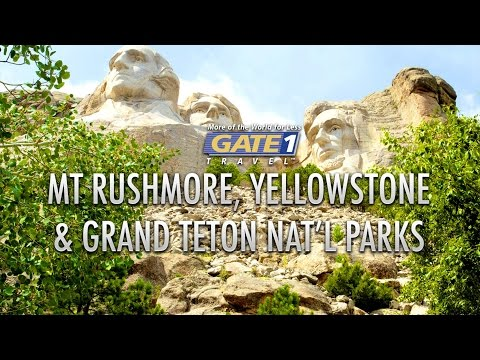 Mt. Rushmore, Yellowstone & Grand Teton National Parks - Tour the US with Gate 1 Travel