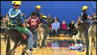 Donkey Basketball Fundraiser in Little Chute