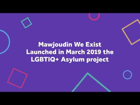 Asylum LGBTIQ+ project (Mawjoudin We Exist)