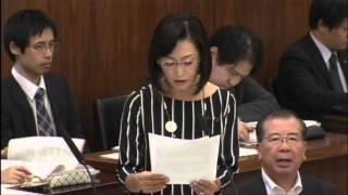 2015年5月12日 参議院厚生労働委員会にて質問をいたしました。 【がん検...