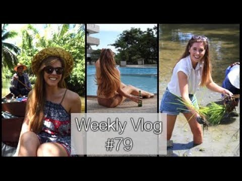 Cook-Offs, Planting Rice and TORRENTIAL Rain! | xameliax in Bangkok! (WB#79)