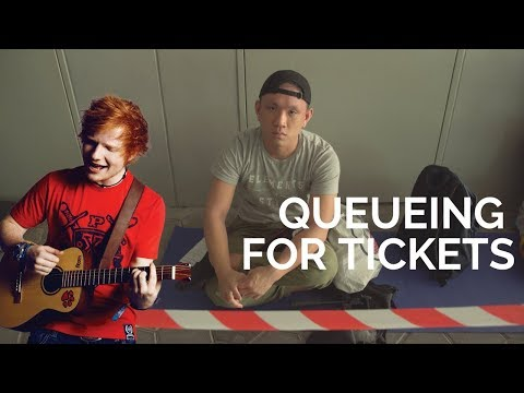 HIRED TO QUEUE FOR ED SHEERAN'S TICKETS | STREET TALK 2.0