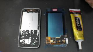 Samsung Galaxy J3 SM J320F замена дисплейного модуля