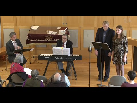 Recital of Songs from the American Yiddish Theater