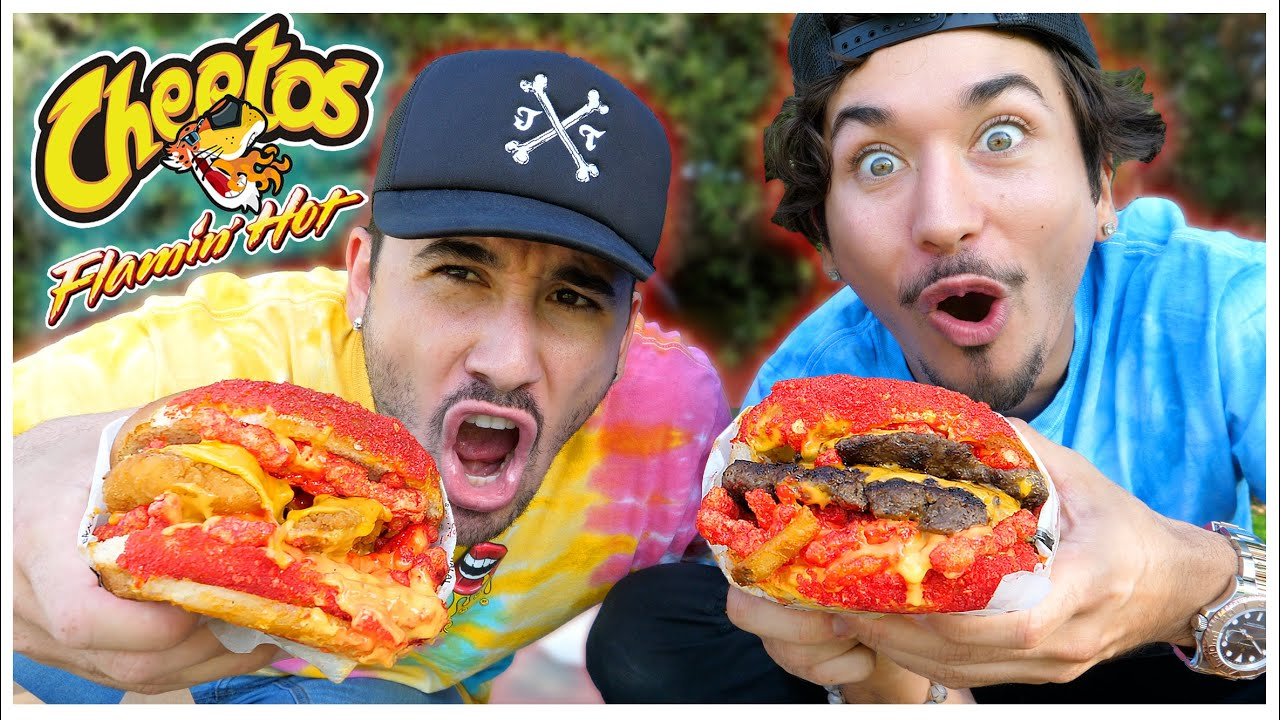 Eating At The Most POPULAR Instagram Restaurant... (WEIRD FOOD COMBOS)