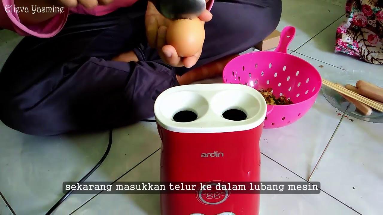 Bikin Sostel Sendiri Di Rumah Sosis Telur Yang Sedang Hits Youtube Alat 4 Lubang Mesin Lobang Egg Roll
