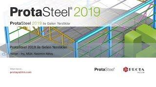 ProtaSteel 2019 ile Gelen Yenilikler