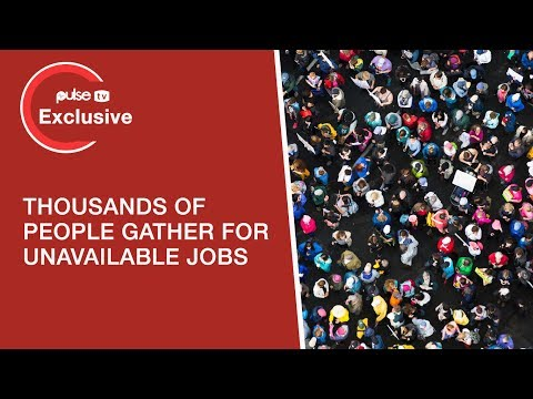 Jobs In Dubai: Thousands Gather In Search Of 'unavailable' Job Opportunities | Pulse TV