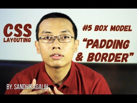 CSS Layouting - #5 Box Model : Padding, Border & Box Sizing