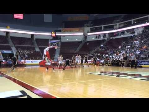 Lancaster Mennonite boys basketball scores game-tying 3-pointer