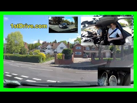Lucy's driving lessons 6 - Clutch control then national speed limits