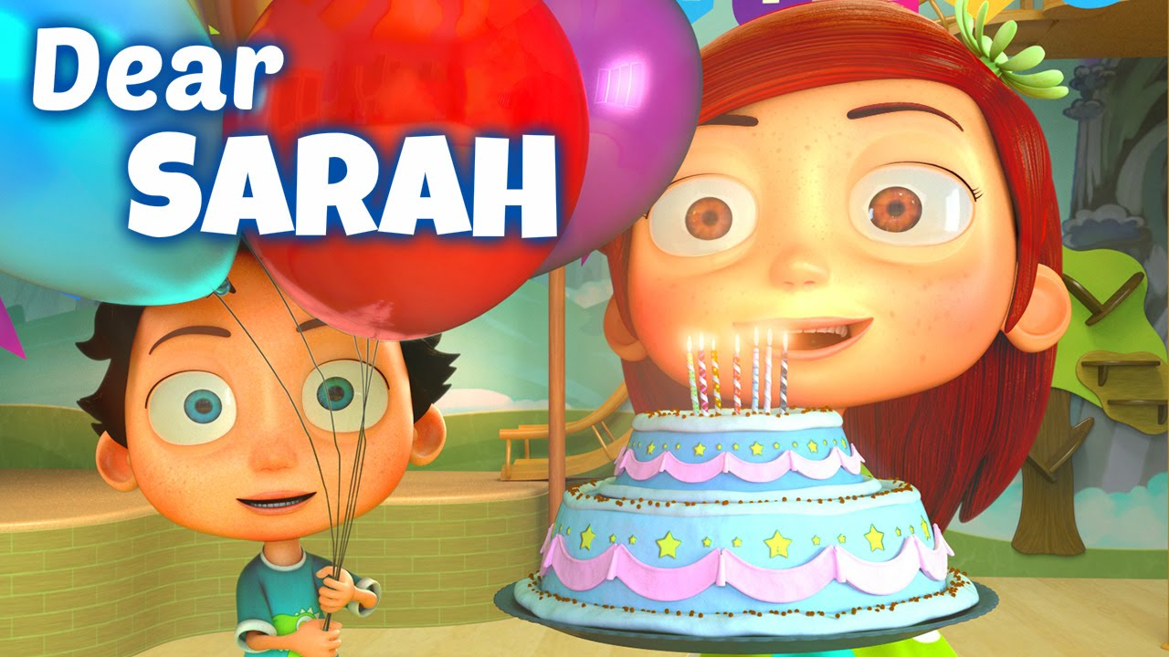 Happy Birthday Song To Sarah Youtube