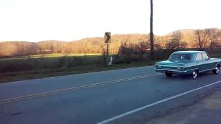 1965 nova accel burn