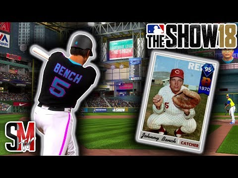 team-is-so-good-i-mercy-ruled-him!-johnny-bench-debut---mlb-the-show-18-gameplay