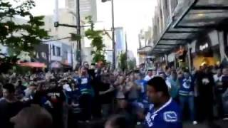 Huge Vancouver Riot Fight 2011 Stanley Cup loss Part 11