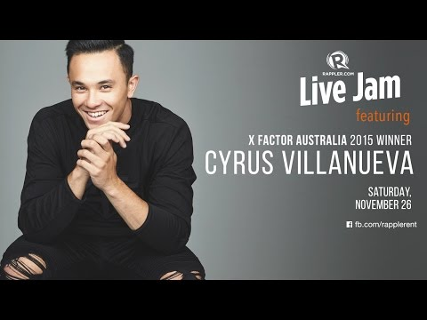 Rappler Live Jam: Cyrus Villanueva