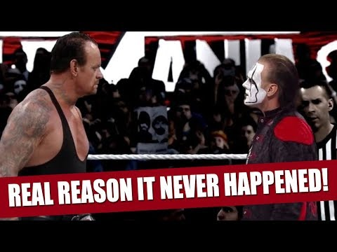 The Real Reason Why Sting vs The Undertaker Never Happened!
