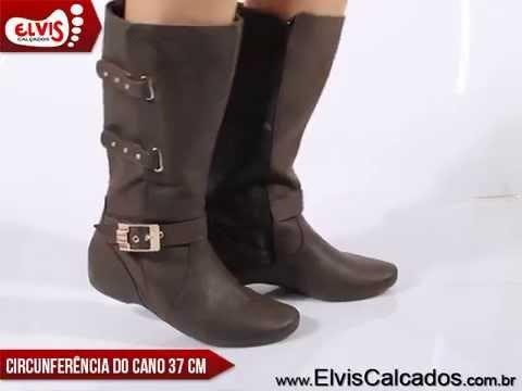 eecac279f09 Bota Rasteira Comfortflex 1591302 Café - YouTube