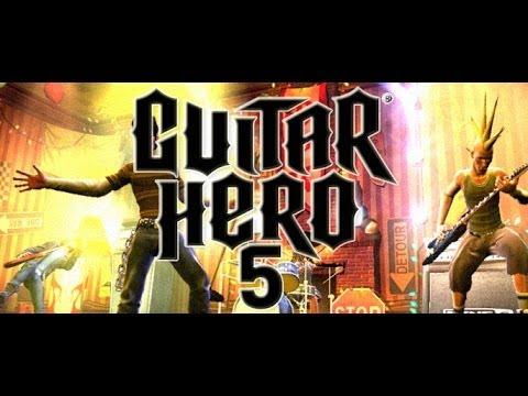 testando o jogo guitar hero 5 j jogou youtube. Black Bedroom Furniture Sets. Home Design Ideas