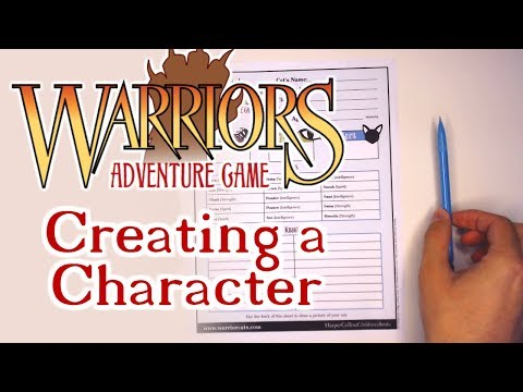 Warriors Adventure Game | Creating A Character