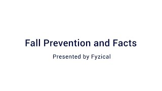 Fall Prevention and Facts: Webinar Wednesday 9/23/2020