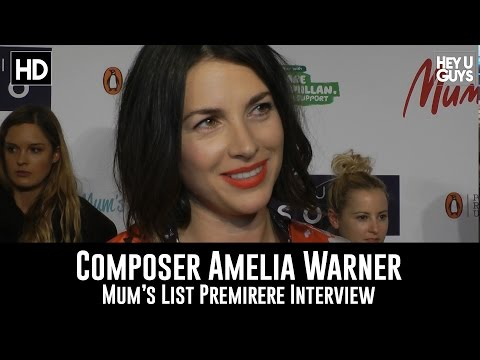 Mum's List Composer Amelia Warner Premiere Interview