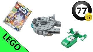 Lego Star Wars   Millenium Falcon and Flash Speeder   Magazine (December 2016)   Lego Speed Build