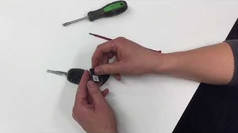 Auton avaimen pariston vaihto - Auton avaimet ja lukot