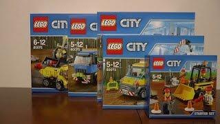 NOWOŚCI STYCZEŃ 2015 LEGO CITY WYBURZANIE