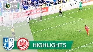 1. FC Magdeburg - Eintracht Frankfurt 4:5 i.E. | Highlights DFB-Pokal 2016/17 - 1. Runde
