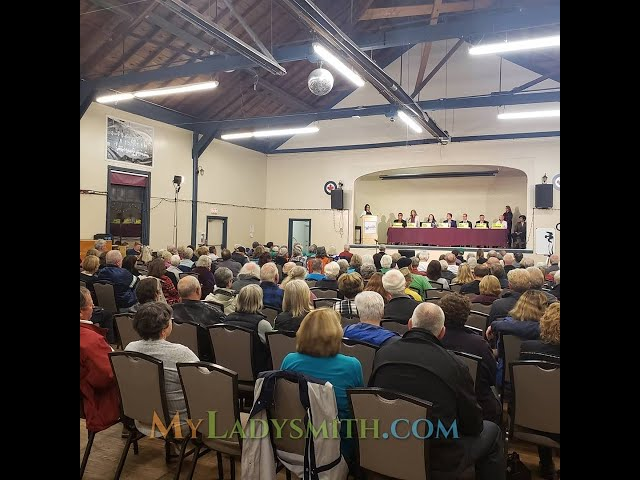 2019 LADYSMITH FEDERAL ELECTION ALL CANDIDATES FORUM