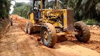 Aplikasi S-Base 07 Soil Stabilizer (Perkerasan Main Road Perkebunan Sawit)