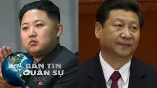 Tin Thế Giới - Hố sụt bất ngờ trong quan hệ Trung - Triều | Bản Tin Quân Sự