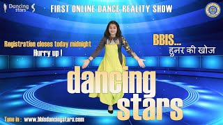 BBIS Dancing Stars | Time is Running Out