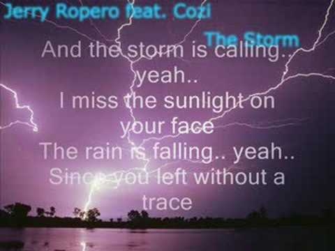 Jerry Ropero feat Cozi - The Storm (radio edit) [HQ]