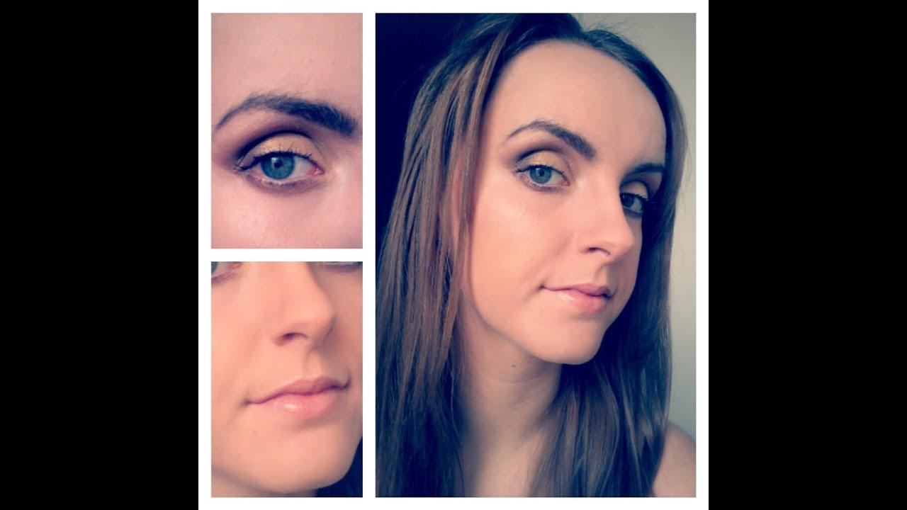 Makeup Deep Set Eyes Gold Tones