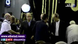 بالفيديو.. محمد بركات فى عزاء طارق سليم